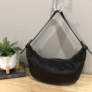 Furla | Chocolate Brown Hobo Style Leather Bag